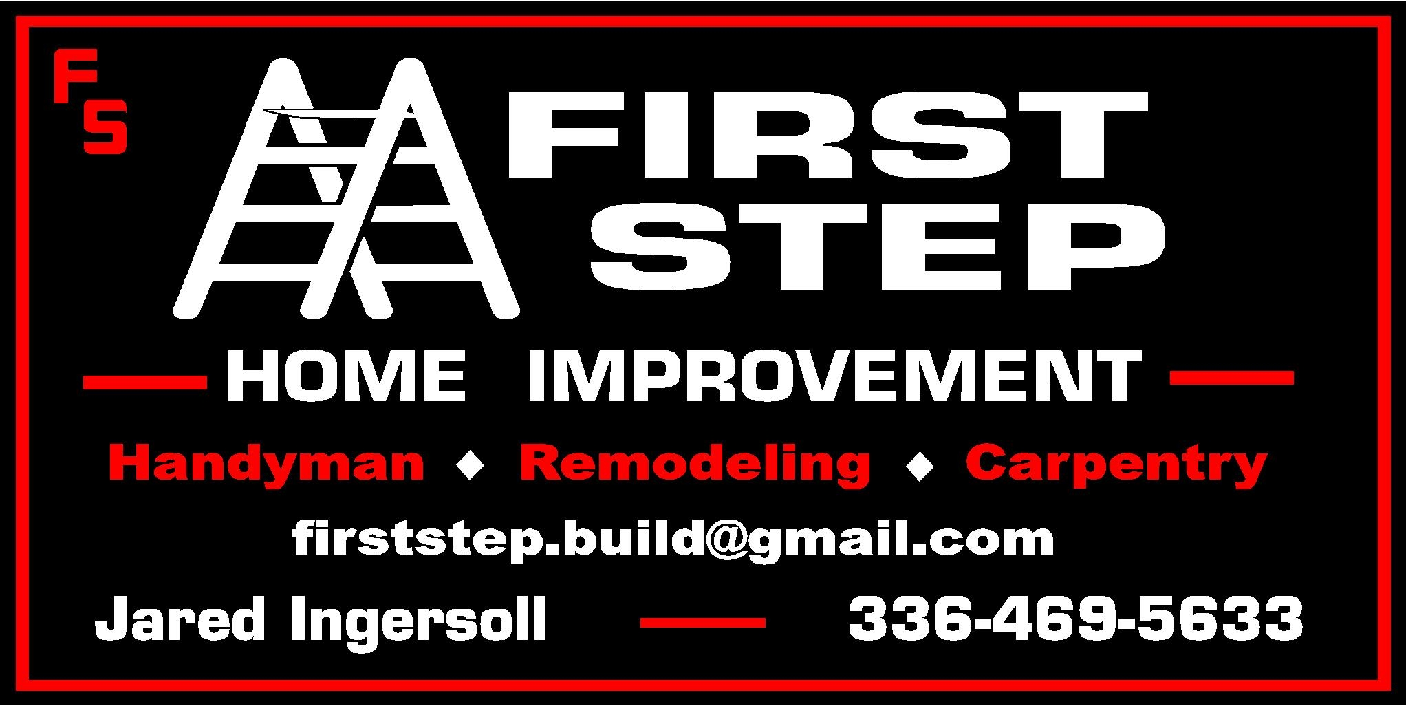 First Step Home Improvement logo