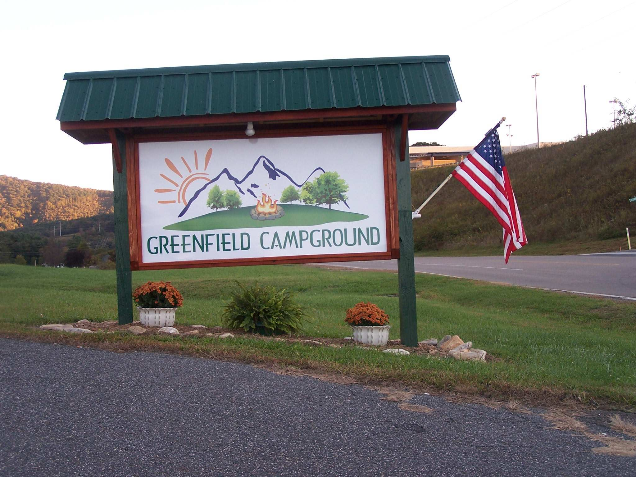 Greenfield Campground logo