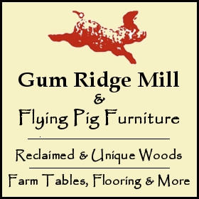 Gum Ridge Mill & Flying Pig Furniture logo