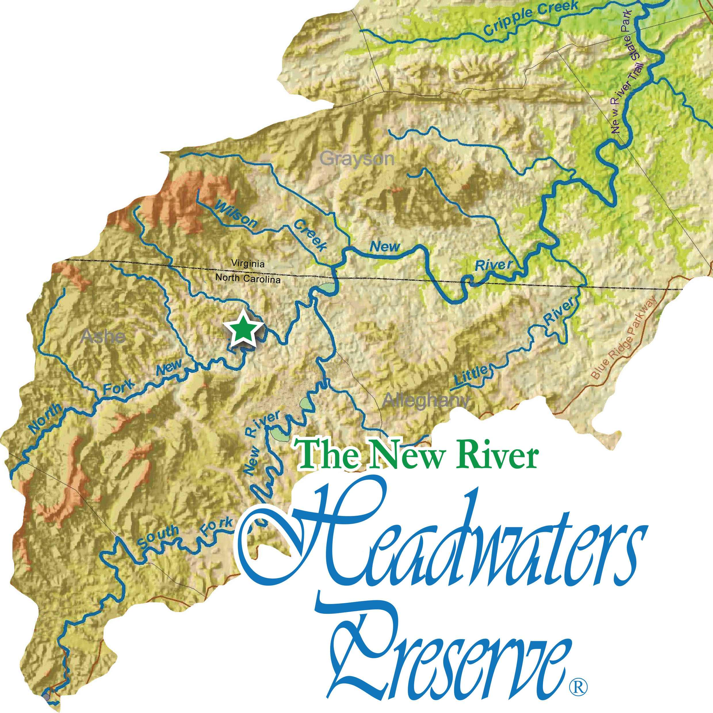New River Headwaters Preserve® logo