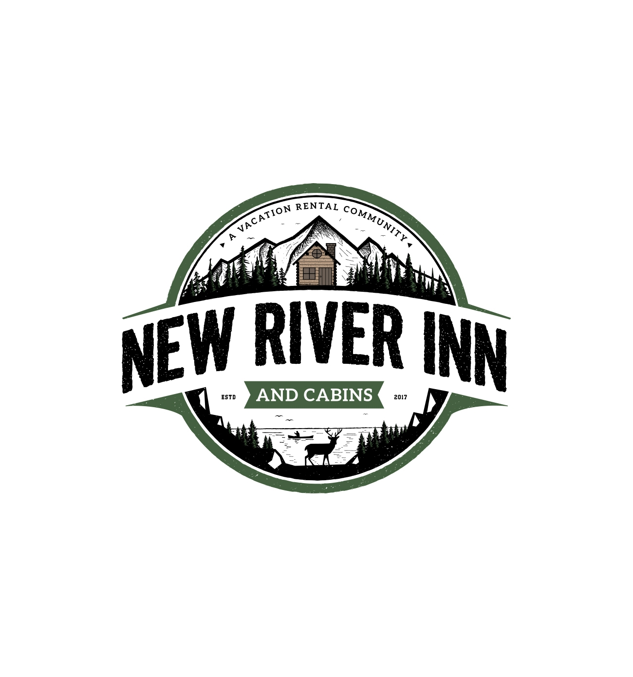 New River Inn & Cabins logo